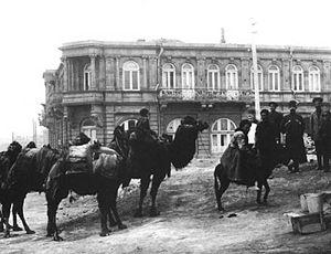 Rashid Behbudov Street - Image: Доходный дом М.Мухтарова
