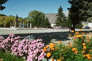 Zernograd Town in Rostov Oblast, Russia