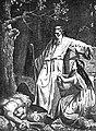 Казімір Альхімовіч. Ліздзейка з дачкой на крушнях храма Перуна.jpg