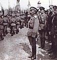 Лавр Корнилов принимает смотр 1917.jpg