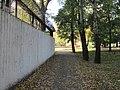 Міський Сад (Кременчук) - 28- Стіна заводу Кредмаш.JPG