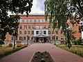 Пам'ятна дошка на честь М. Т. Симонова (Номиса), першого директора Лубенської чоловічої гімназії (02).jpg