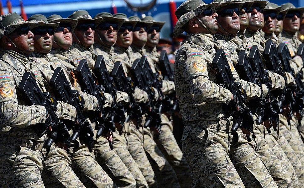 Парад в честь 70-летия Великой Победы - 33