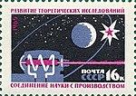 Почтовая марка СССР № 3245. 1965. Материально-техническая база коммунизма.jpg