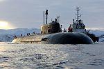 Прибытие атомного подводного ракетного крейсера Северного флота «Орёл» в пункт постоянного базирования 07.jpg