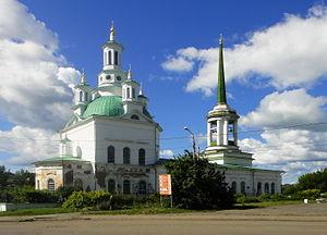 Alapayevsk - Holy Trinity Cathedral, July 2014