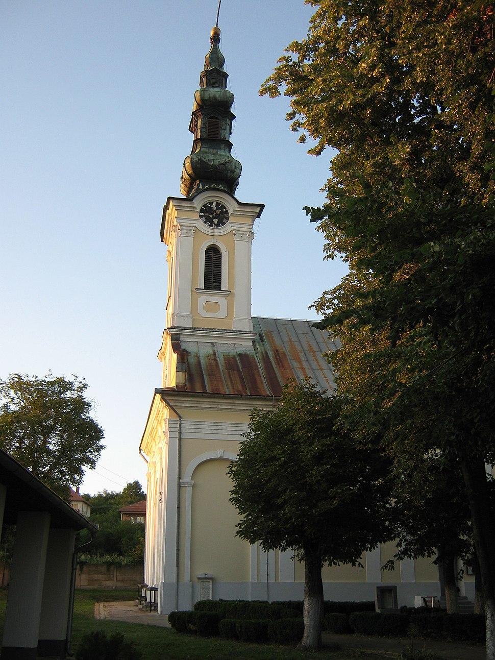 Српска православна црква Св. Петра и Павла у Белој Цркви