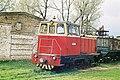 Тепловоз ТУ-6А узкоколейной железной дороги с вагонами.jpg