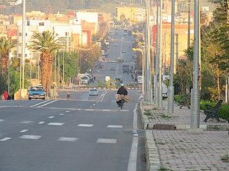 Oued Zem - Image: شارع الدار البيضاء