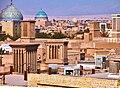 قسمتی از بافت قدیمی یزد از فراز مناره میرچخماق A part of old Yazd - panoramio (2).jpg