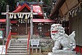 宇治市にて 伊勢田神社の狛犬(阿形) 2013.1.10 - panoramio.jpg