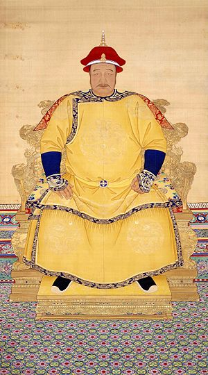 Shunzhi Emperor - Hong Taiji, whose five-year-old son, Fulin, became the Shunzhi Emperor in 1643