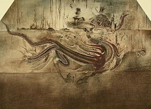 Azure Dragon - Image: 청룡 조선고적도보