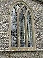 -2018-11-04 Cusped tracery window on south elevation, Saint Giles, Bradfield, Norfolk (1).JPG