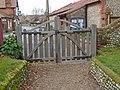 -2019-11-25 Western approch gateway, All Saints church, Weybourne.JPG