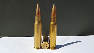 .308 Winchester cartridges
