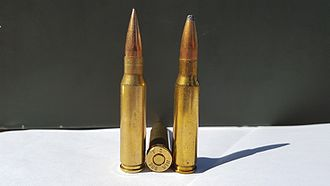 .308 Winchester - Image: .308 Winchester FMJSP