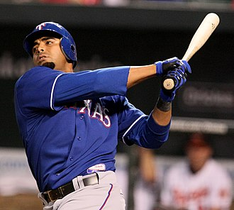 Nelson Cruz - Cruz with the Rangers