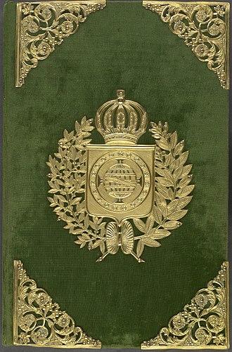 Brazilian National Archives - Image: 00 Constituição do Império do Brasil
