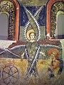 019 Absis de Santa Maria d'Àneu, serafí, carro de foc i l'arcàngel Rafael.jpg