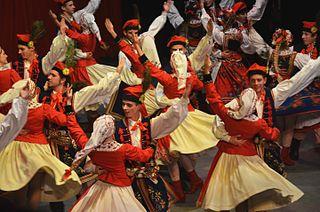 Krakowiak polish dance