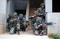 020410-M-9902V-029 - U.S. Marines MOUT practice at Camp Hansen in Okinawa, Japan
