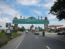 Cabanatuan welcome arch