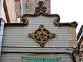 030 Casa Joan Ors (Barcelona), detall de la façana del c. Sant Carles 12.jpg
