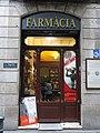 042 Farmàcia Santa Caterina, c. Carders 3 (Barcelona).jpg