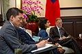 10.09 總統接見「美國國務院主管澳洲、紐西蘭及太平洋島國事務副助卿暨APEC資深官員孫曉雅訪問團」 - Flickr id 48868882826.jpg