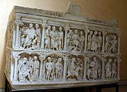 1054 - Roma, Museo d. civiltà Romana - Calco sarcofago Giunio Basso - Foto Giovanni Dall'Orto, 12-Apr-2008