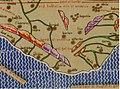 1154 Tabula Rogeriana Al Idrisi transcripcion de Konrad Miller 1928 detalle.jpg