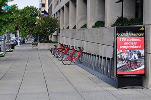 Capital Bikeshare - Station in the George Washington University