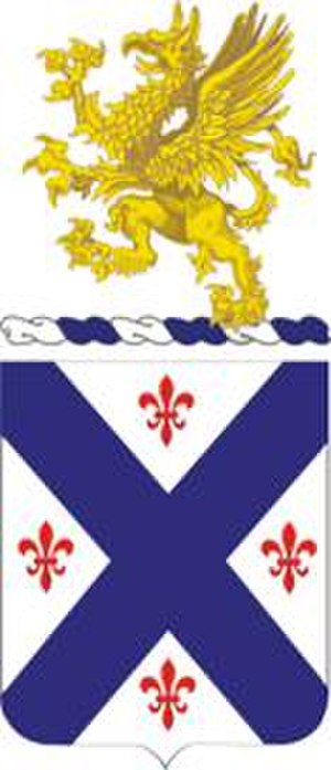 126th Infantry Regiment (United States) - 126th Infantry Regiment coat of arms
