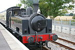 130806 No 70 Hudswell Clarke No 1464 at Avon Riverside Station, Avon Valley Railway.jpg