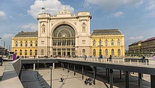 Budapest Keleti railway station main international and inter-city railway terminal in Budapest, Hungary