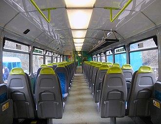 British Rail Class 142 - Image: 142082 Interior