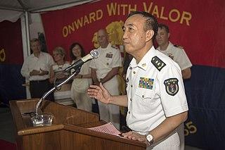 Yuan Yubai Chinese officer * 1956