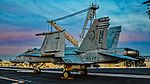 "165212 Boeing F-A-18C Hornet Strike Fighter Squadron 34 (VFA-34) ""Blue Blasters"" (22225490106).jpg"