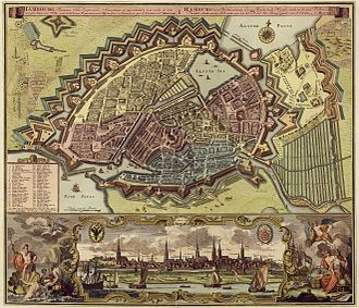 Timeline of Hamburg - Hamburg, 1730