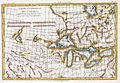 1780 Raynal and Bonne Map of Great Lakes and Upper Mississippi - Geographicus - OccidentileCanada-bonne-1780.jpg