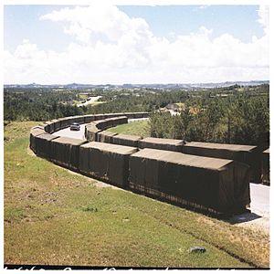1968 Kadena Air Base B-52 crash - Tens of thousands of artillery projectiles at Chibana Army Ammunition Depot, September 1969