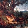 1827 Blechen Schlafender Faun im Schilf anagoria.JPG