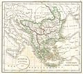 1832 Delamarche Map of Greece and the Balkans - Geographicus - Greece-d-32.jpg