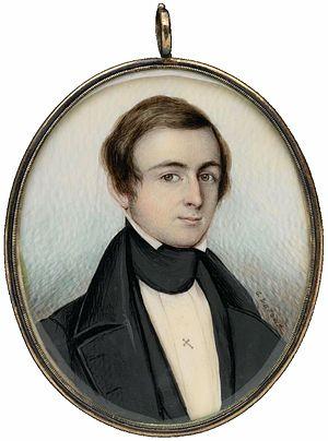 George Loring Brown - Image: 1839 Josuah Richardson Bigelow by George L Brown MFA Boston