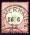 1872 Reich 1Gr Bremerhaven Mi4.jpg