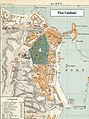 1888 Plan of Algiers, Algeria Casbah region.jpg