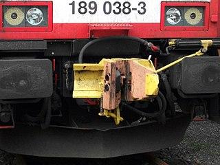 C-AKv coupler Railway vehicle coupler
