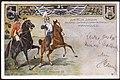 1903-12-19 A. Wilh. Ecks Ansichtskarte Jubiläum Königs-Ulanen-Regiment 1. Hannoversches Nr. 13, Bildseite.jpg
