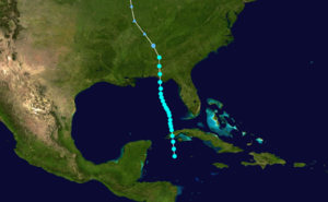 1906 Atlantic hurricane season - Image: 1906 Atlantic tropical storm 1 track
